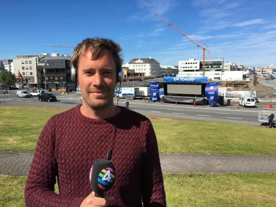 Dette er P4s nye mann i USA. Fra 1. februar overtar Håkon Løtveit som USA-korrespondent for radiokanalen. Foto: Privat