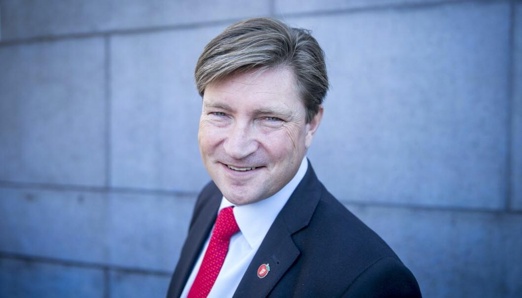 Klar Tale-redaktør Gøril Huse mener at Christian Tybring-Gjedde bedriver netthets mot en av hennes journalister. Foto: NTB scanpix