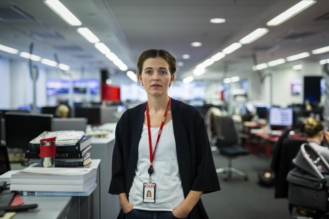 Nyhetsredaktør Tora Bakke Håndlykken i VG svarer om avisas dekning av Dubai. Arkivfoto: Kristine Lindebø