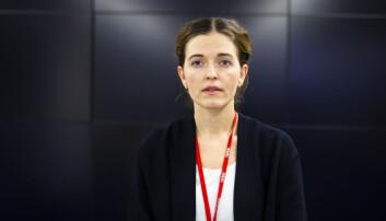 Nyhetsredaktør Tora Bakke Håndlykken i VG. Arkivfoto: Kristine Lindebø