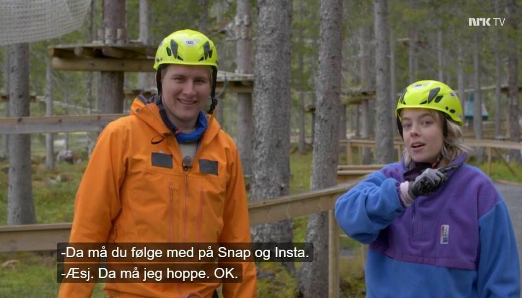 – NRK Supers policy på dette området er klar: Vi skal ikke oppfordre barn til å være på sosiale medier, sier programredaktør Hildri Gulliksen. Skjermdump NRK