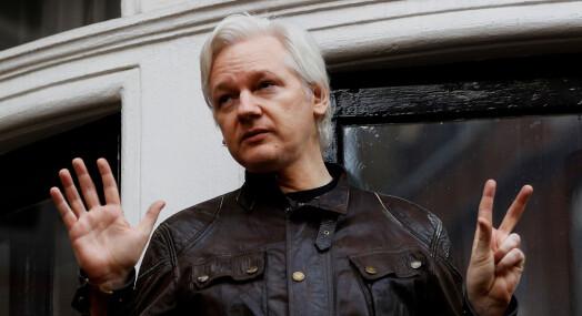 Anklager Wikileaks-gründer for å bryte eksil-vilkår