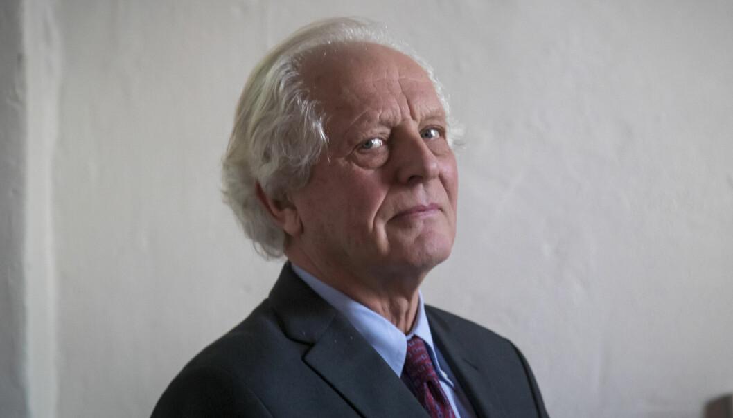 William Nygaard er styreleder i Norsk PEN og skal også lede styret i det nye fondet for ytringsfrihet. Foto: Heiko Junge / NTB scanpix