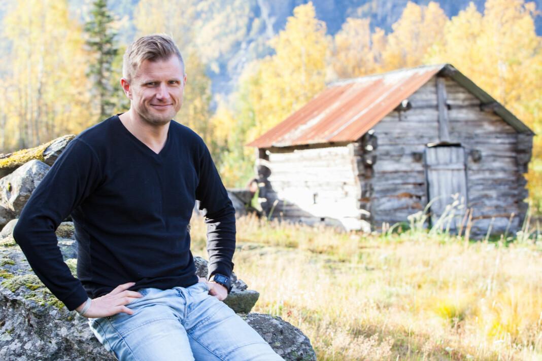 Juryen omtaler språket til Arve Uglum som «sobert», «lavmælt» og «tilbaketrukket». Foto: Christian Blom/NRK