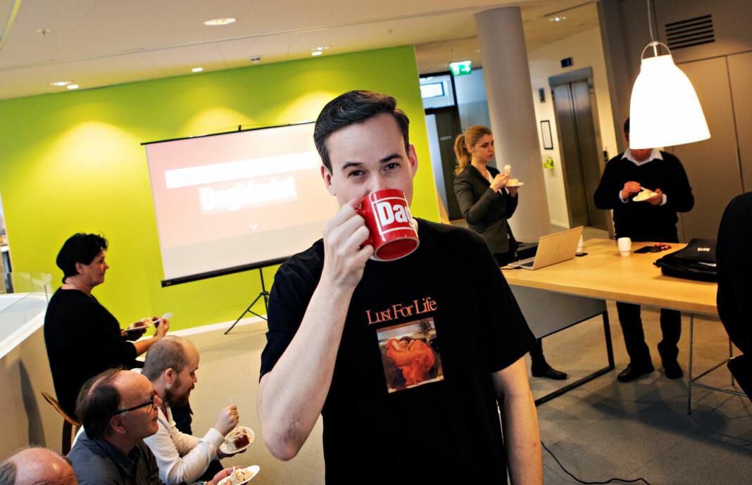 Dagbladet har funnet sin nye redaksjonssjef for Dagbladet Pluss internt. Jonas Pettersen (33) rykker opp. Foto: Frank Karlsen/Dagbladet