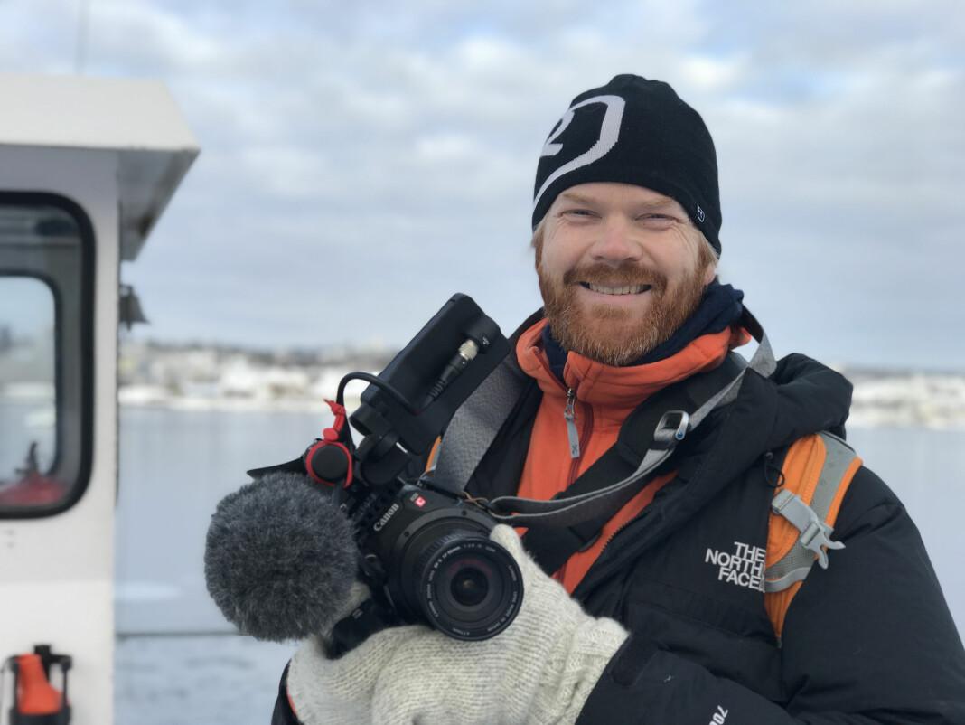 Sveinung Uddu Ystad er videojournalist i Visuelt Bureau. Foto: Jon Terje H. Hansen / Visuelt Bureau