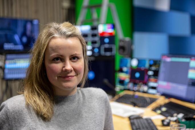Stine Mari Velsvik jobber til daglig som journalist i NRK Hordaland. Foto: Christine Kongsvik