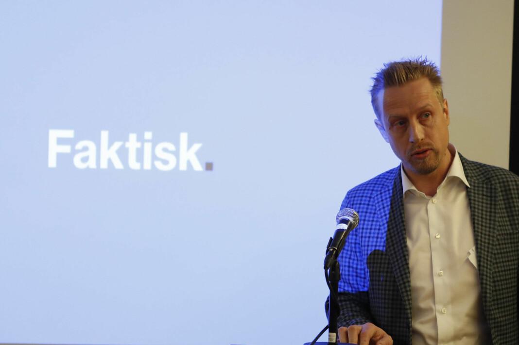 Kristoffer Egeberg, ansvarlig redaktør for Faktisk.no, får nå også ansvaret for Innsyn.no.