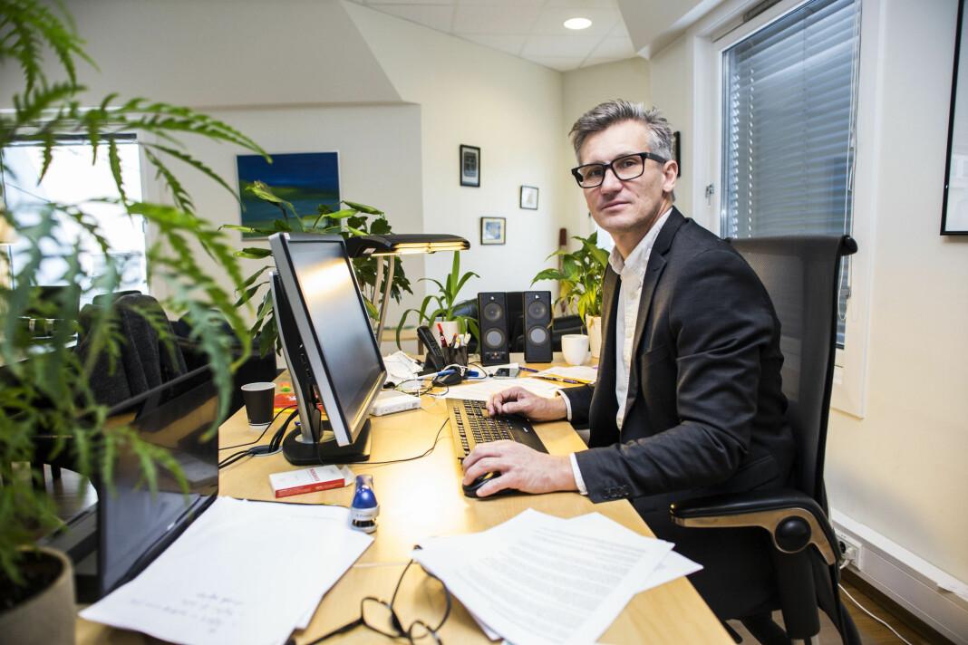 Direktør Bjørn Erik Thon i Datatilsynet er ikke begeistret over at myndighetene vil masseovervåke aktiviteten til nordmenn på nettet. Foto: Mariam Butt / NTB scanpix