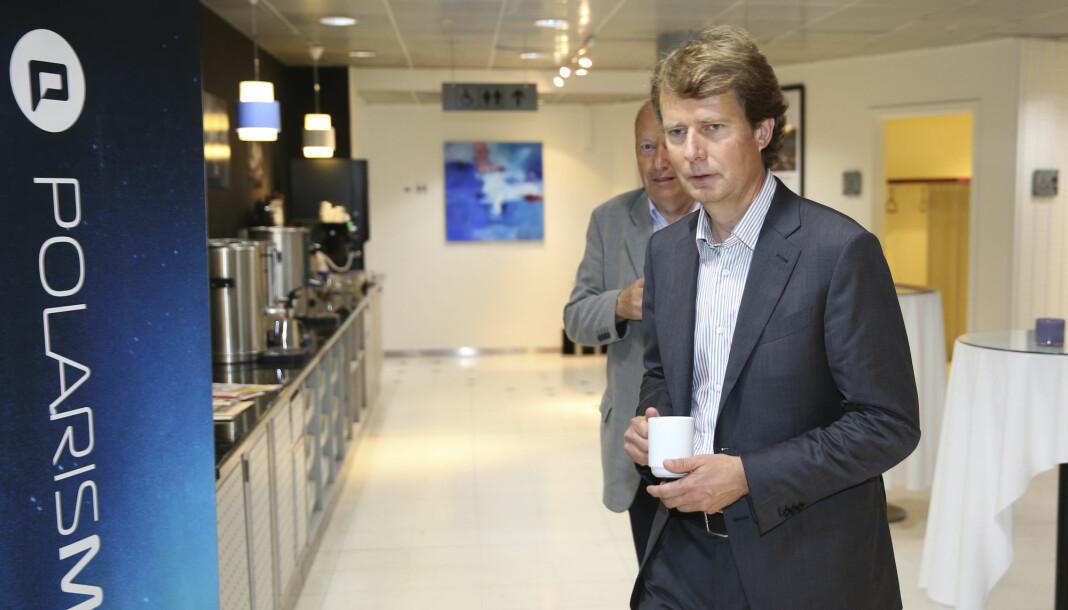 Konsernsjef Per Axel Koch i Polaris Media oppfordrer Skup-arrangørene til å utsette. Foto: Vidar Ruud, NTB scanpix