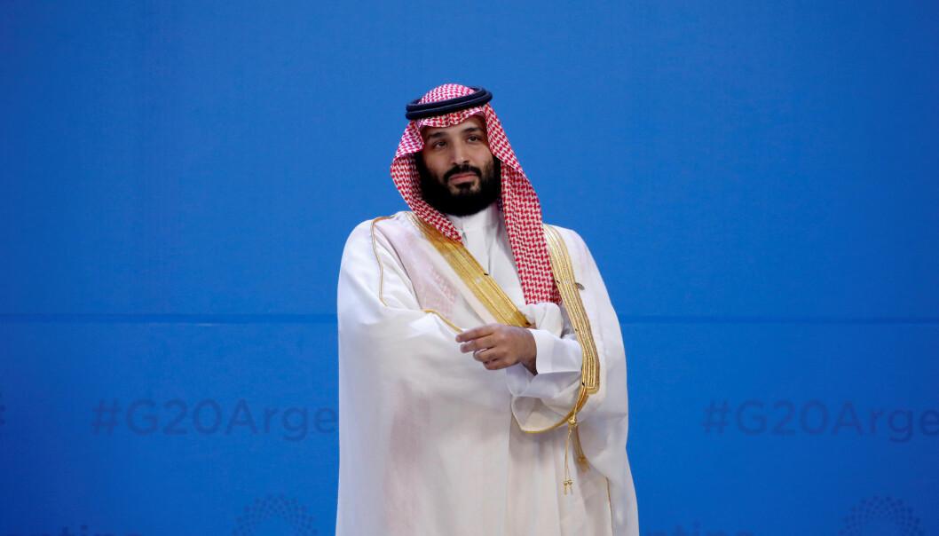 New York Times får opplyst av flere amerikanske myndighetspersoner som jobber innen etterretning, at Saudi-Arabias kronprins Mohammed bin Salman kom med en trussel rettet mot journalisten Jamal Khashoggi i en samtale i 2017. Foto: Reuters / NTB scanpix