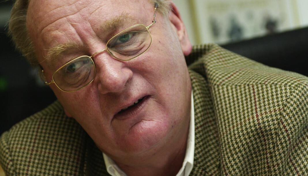 Journalist, forfatter og tidligere Se og Hør-redaktør Knut Haavik døde i Spania natt til fredag. Haavik ble 75 år gammel. Her i et bilde fra 2013. Foto: Erlend Aas / NTB scanpix