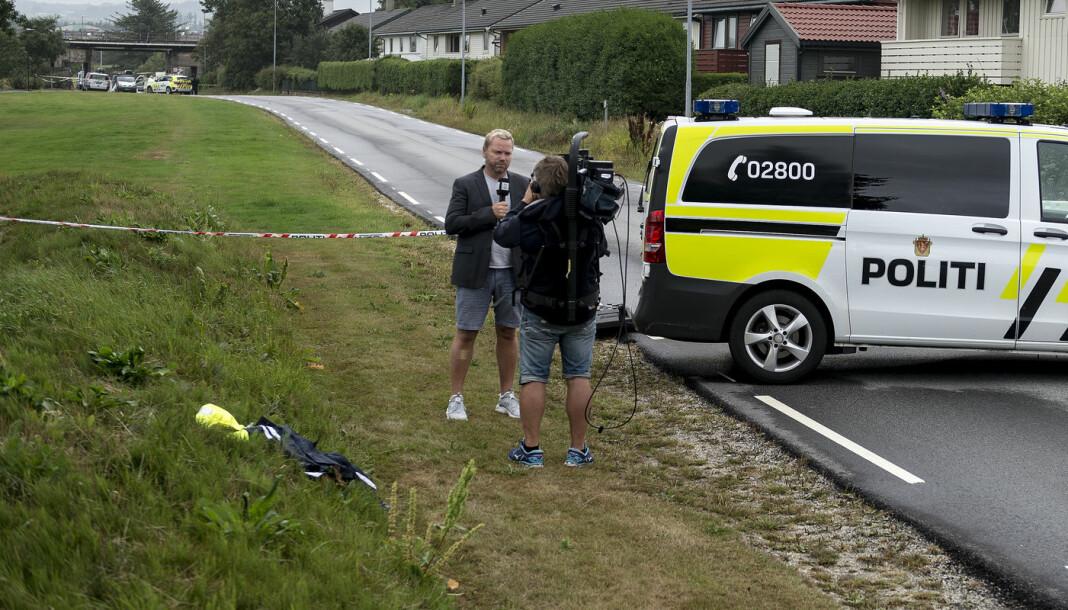 Medieforsker Lars Arve Røssland mener bruken av kommentarsjangeren har endret kriminaljournalistikken. Arkivfoto: Carina Johansen / NTB Scanpix