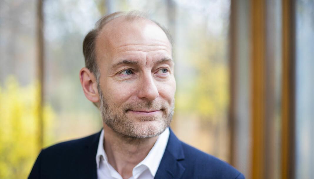 Fritt Ord-leder Knut Olav Åmås ledet også Mediemangfoldsutvalget, som leverte anbefalinger om framtidens mediestøtte i 2017. Foto: NTB scanpix