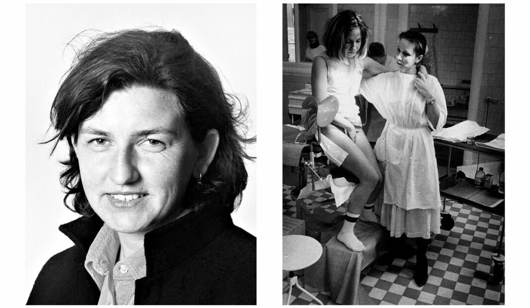 Karina Jensen var en engasjert og dyktig fotojournalist, som kjempet for sine kollegers rettigheter. Bildet til høyre ble Årets bilde i 1992