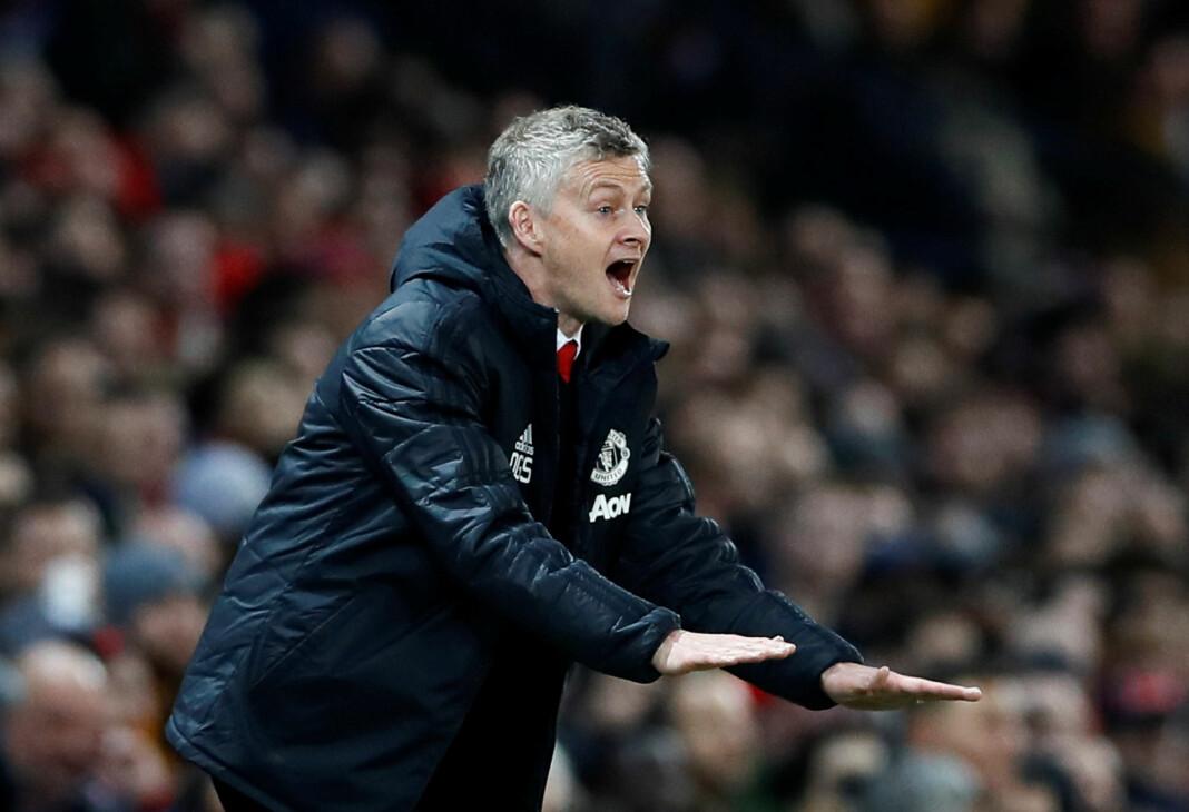 Ole Gunnar Solskjær tapte sin første kamp som manager for Manchester United. Uansett resultat i kampen, ble TV-sendingen en seier for TV 2 Sumo, som satte ny seerrekord. Foto: Reuters / NTB scanpix