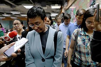 Den profilerte filippinske journalisten og mediegründeren Maria Ressa er pågrepet