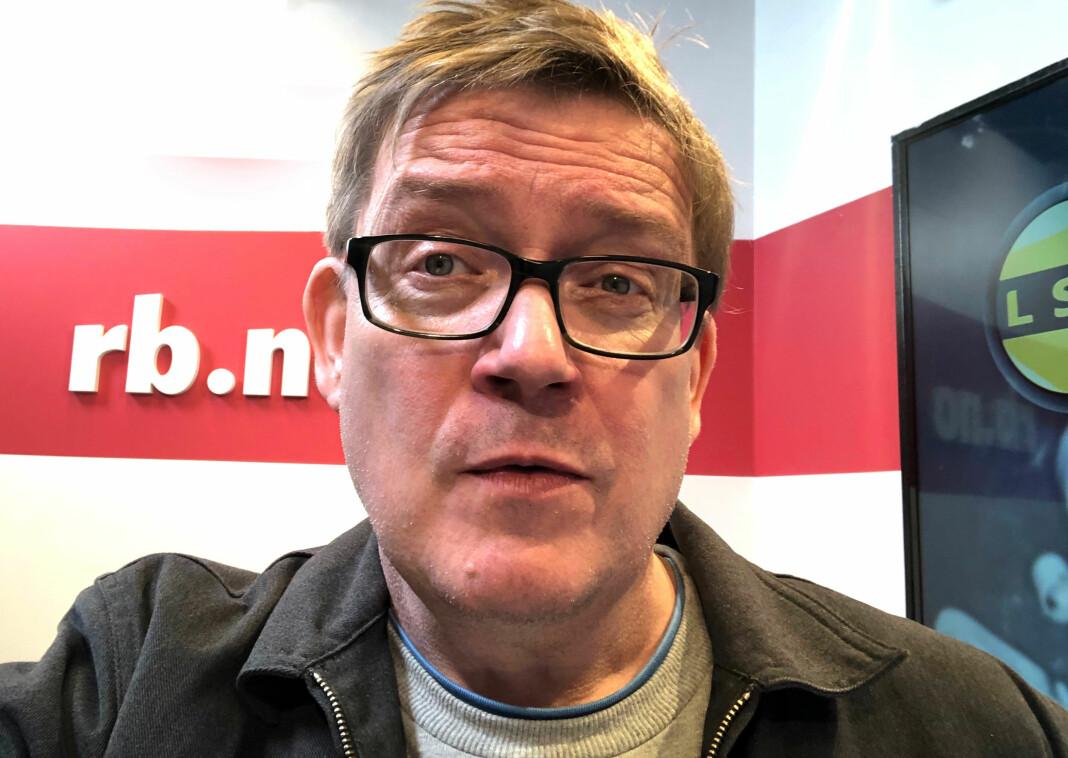 Går det bra med Romerikes Blad og LSK, er politisk redaktør Lars MJ Hansen fornøyd. Foto: Privat