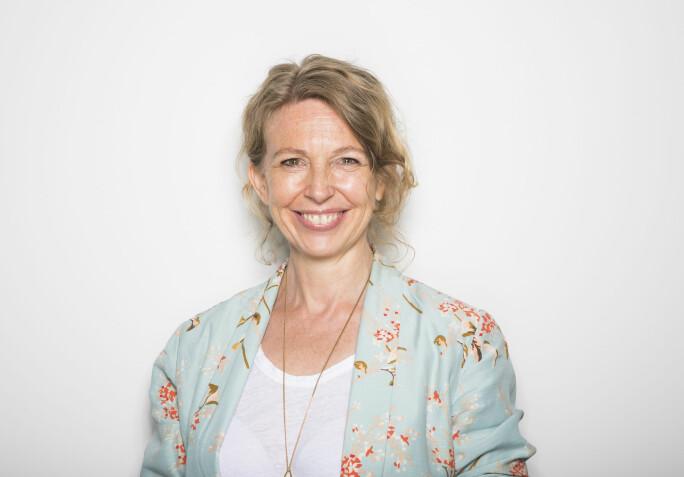 Christina Dorthellinger Nygaard, redaktør visuell kommunikasjon i NTB. Foto: Thomas Brun / NTB scanpix