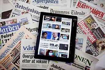 SV vil gi pressestøtte til gratisaviser på nett