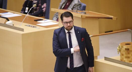 SVT tok avstand fra Jimmie Åkesson-uttalelse – felt av Granskningsnämnden