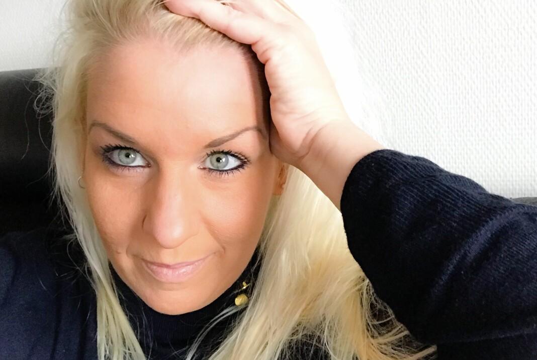 De fire siste årene har Camilla Glad vært redaktør og daglig leder i Åmliavisa. Foto: Privat