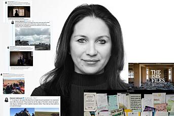 Rukmini Callimachi snakker ukentlig med jihadister i lukkede chat-forum. Det har gitt henne både beundrere og kritikere