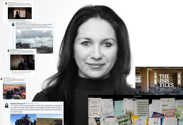 NYT-journalist Rukmini Callimachi snakker ukentlig med jihadister i lukkede chat-forum. Det har gitt henne både beundrere og kritikere