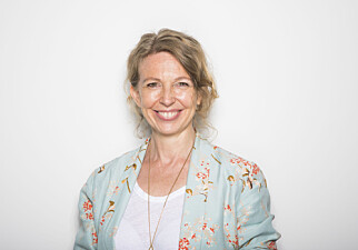 Leder for visuell kommunikasjon i NTB, Christina Dorthellinger Nygaard. Foto: Thomas Brun / NTB scanpix