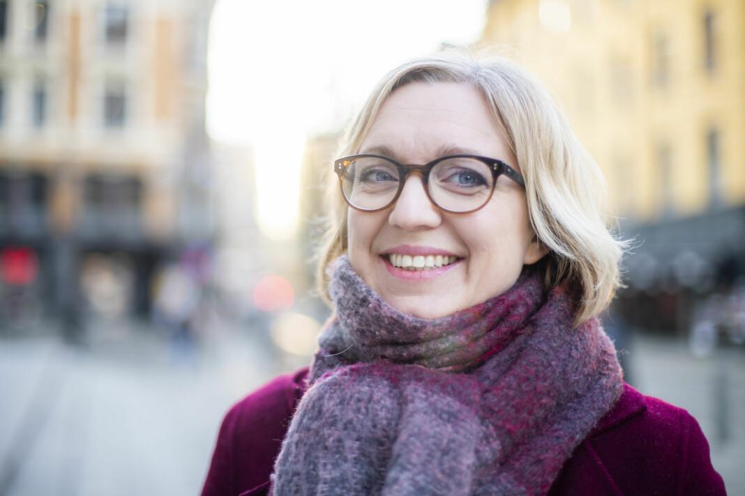 Sarah Sørheim er ansatt som nyhetsredaktør i NTB. Hun kommer fra jobben som kulturredaktør i Aftenposten. Foto: Håkon Mosvold Larsen / NTB scanpix