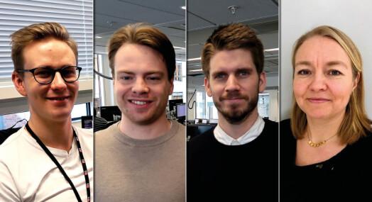 E24 ansetter fire: Henter fra VG, Reuters og Dagens Næringsliv