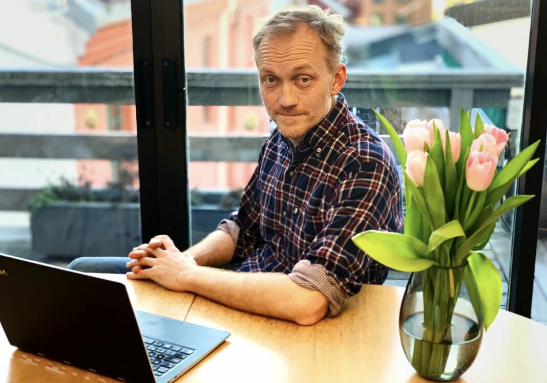 Rett 24 har bedt om innsyn i de to tilbudene, men har fått avslag fra Næringsdepartementet. På bildet ansvarlig redaktør Kjetil Kolsrud.
