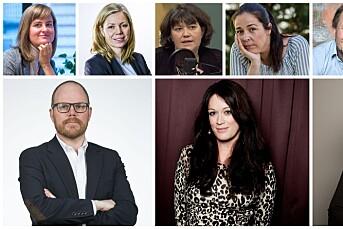 Dette er de nominerte til årets redaktører i Oslo og Akershus