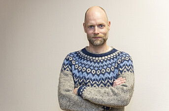 Tony Gulla Sivertsen, konstituert redaktør i Andøyposten. Foto: Jørn Aune