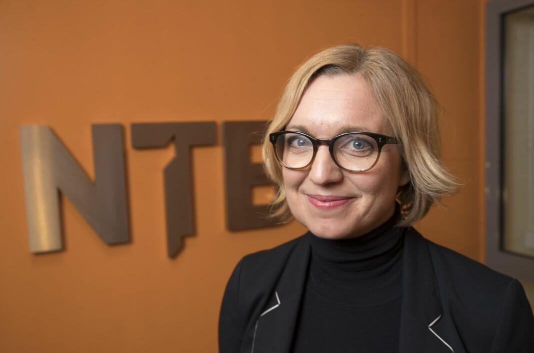 Sarah Sørheim går i gang med jobben som nyhetsredaktør i NTB i løpet av våren. Foto: Terje Bendiksby / NTB Scanpix
