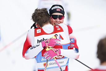 Over én million nordmenn fulgte Johannes Høsflot Klæbo og Emil Iversen på TV-skjermen da duoen tok VM-gull