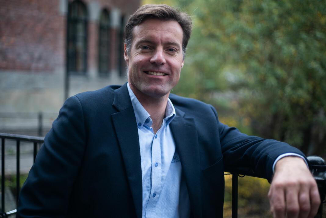 Anders Lie Brenna, ansvarlig redaktør i EnerWE.
