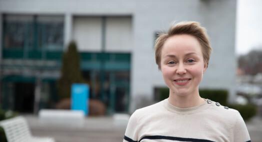 MORGENRUTINEN: Christine Svendsen mener hun er ganske flink til å finne informasjon som ikke er så lett å finne