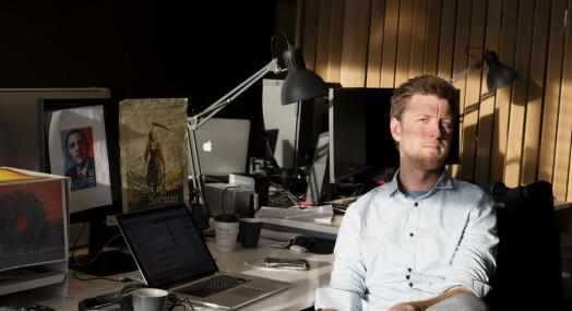 MORGENRUTINEN: Håvard Nyhus skulle gjerne ha intervjuet avdøde russiske stormestre i sjakk