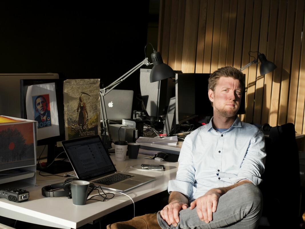 Håvard Nyhus mener mediene har mange grunner til å grave seg ned, men også å la være. Foto: Evelyn Pecori / Vårt Land