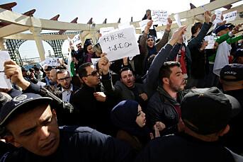 Journalister pågrepet under protest mot sensur i Algerie