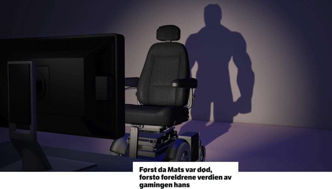 NRKs nettreportasje om Mats Steen ble deres mest leste noensinne. Foto: Faksimile, NRK