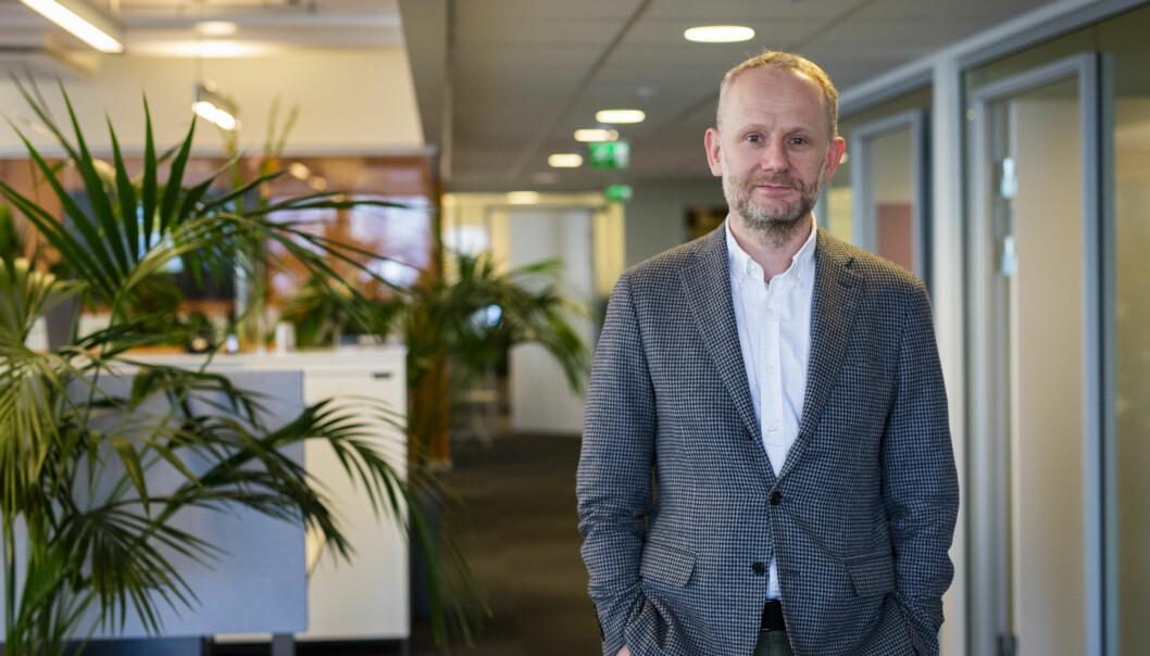 Roger Aarli-Grøndalen, redaktør i Journalisten, snuser på muligheten for å ha en egen prisutdeling. Arkivfoto: Kristine Lindebø