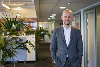 Redaktør i Journalisten, Roger Aarli-Grøndalen.