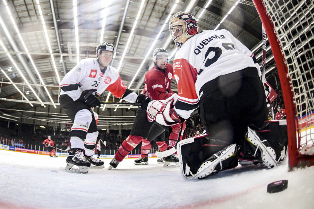 Årets Sportsbilde: Claus Søndberg, Nordjyske Medier. For bildet «6-0» fra en ishockeykamp.