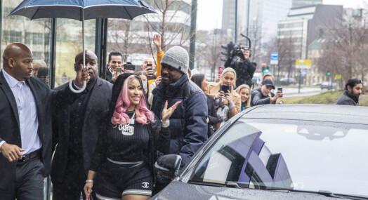 Nicki Minaj besøkte Tidal – som hun muligens er deleier i: Fikk norsk presse til å vente i 4 timer