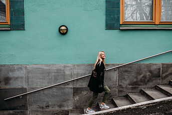MORGENRUTINEN: – Slutter jeg med leken, slutter jeg å fornye meg selv, sier fotograf Cicilie S. Andersen