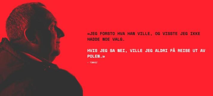 Igor - eller Tomaz - var en av Sovjetunionens illegale agenter i Norge. Skjermdump fra Dagbladet