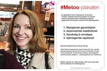 Vi lanserer #metoo-plakaten – en sjekkliste