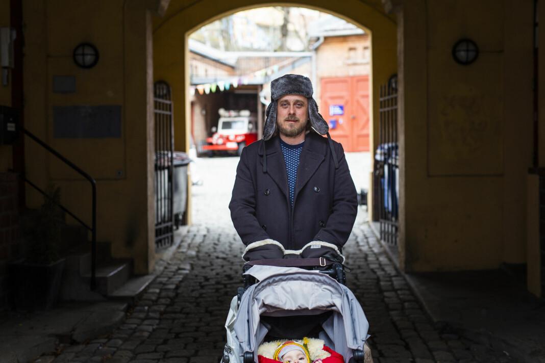 Dagbladets Skup-nominerte gravejournalist Gunnar Thorenfeldt har kastet litt om på prioriteringene det siste året. Foto: Kristine Lindebø
